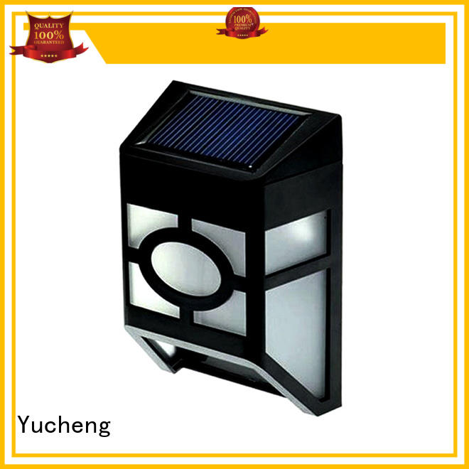 lighting light fence mounted solar lights wall item Yucheng Brand