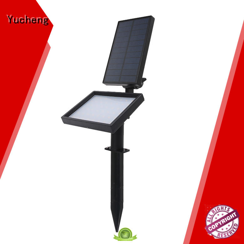 illuminates adjustment waterproof Yucheng Brand solar led garden lights supplier