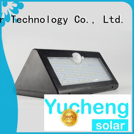 Yucheng professional led sensor wall light for docks