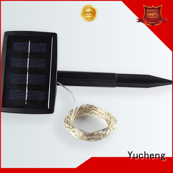 string solar powered christmas lights best outdoor Yucheng company