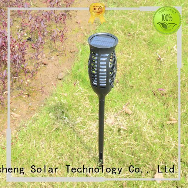 Yucheng solar flame light series for garden