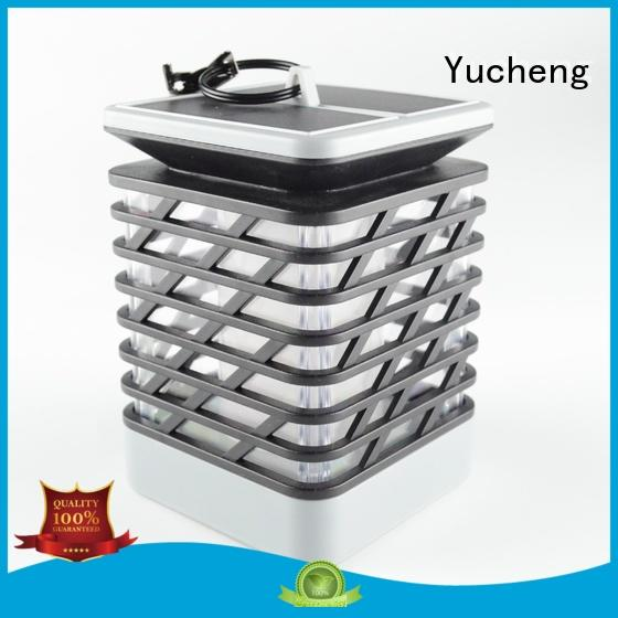 torch Custom mode solar garden lanterns led Yucheng