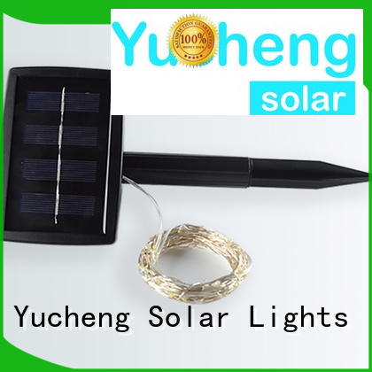 Yucheng solar string lights supplier for Christmas