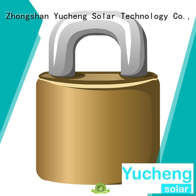 pole security solar powered sensor light Yucheng Brand