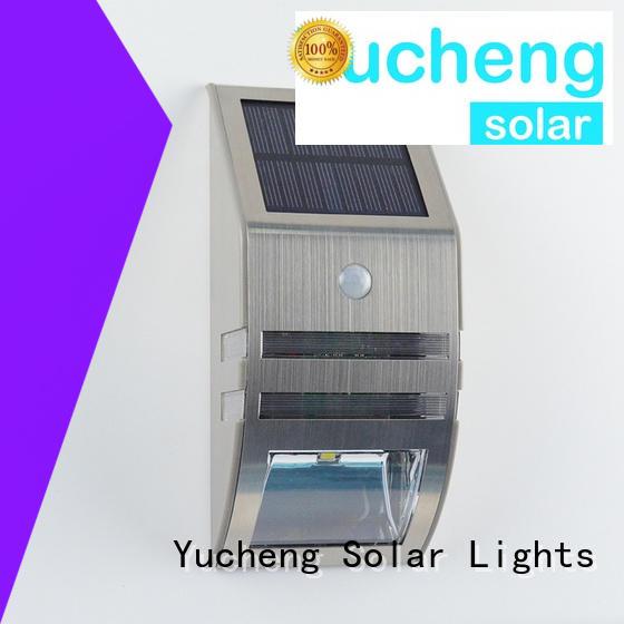 Yucheng solar led lights outdoor customized for docks