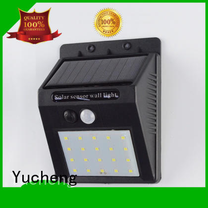 light sensor solar powered sensor light motion semicircular Yucheng company