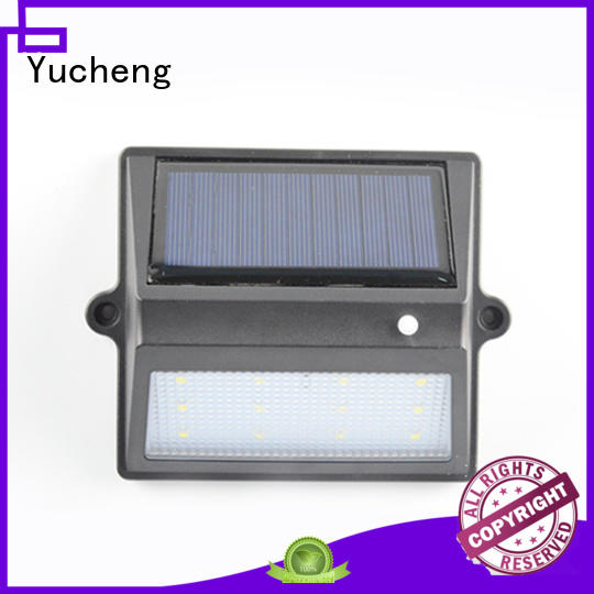 fence mounted solar lights wall lights fence Yucheng Brand company