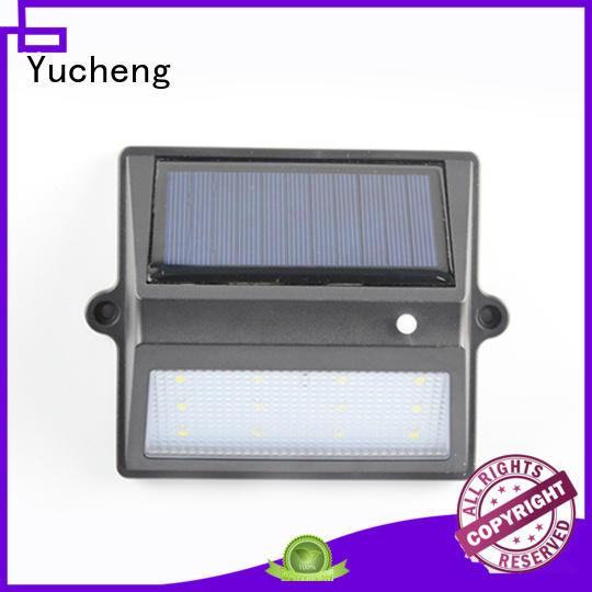 fence mounted solar lights wall lights fence Yucheng Brand company