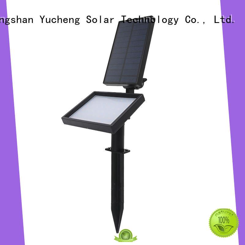 solar powered spotlights for garden Yucheng