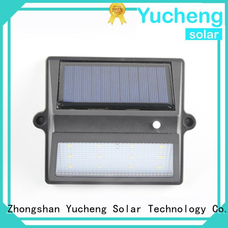 Hot fence mounted solar lights fence Yucheng Brand