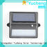 fence mounted solar lights lighting Yucheng Brand solar garden fence lights