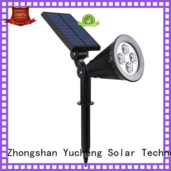 Custom adjustment solar led garden lights area Yucheng
