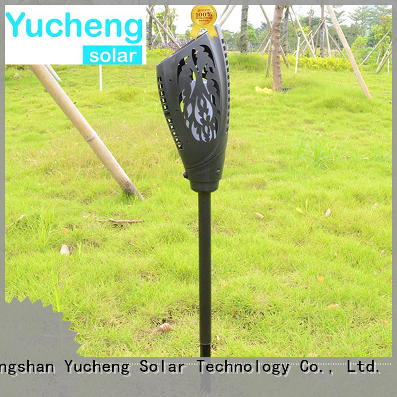 Yucheng solar garden lanterns customized for park