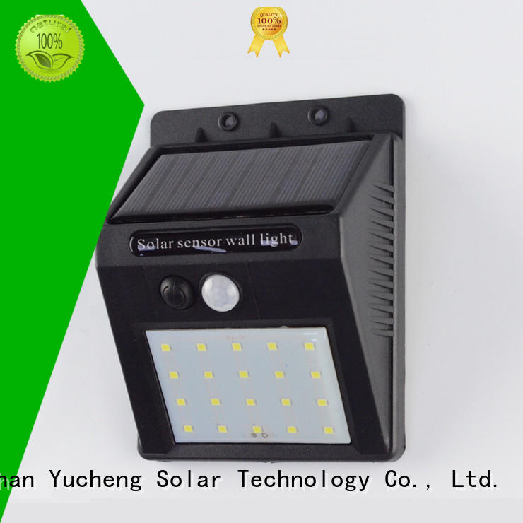 lamp detector outside solar wall lights with motion sensor outdoor Yucheng company