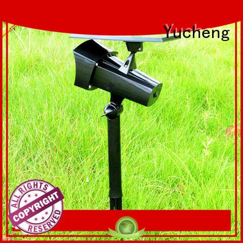 spotlight area Yucheng Brand solar powered outside lights factory