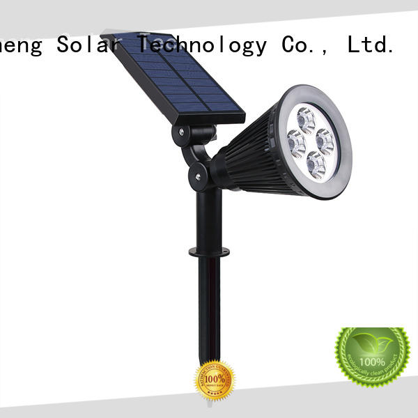 Yucheng solar spotlights outdoor bright factory direct supply for wall