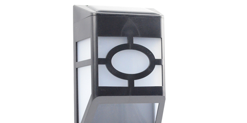 Solar Wall Lights For Fence Deck Roof Lighting Item No.: SW6061-8