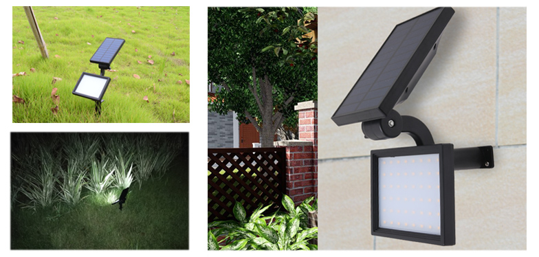 Yucheng solar powered spotlights series for park-2