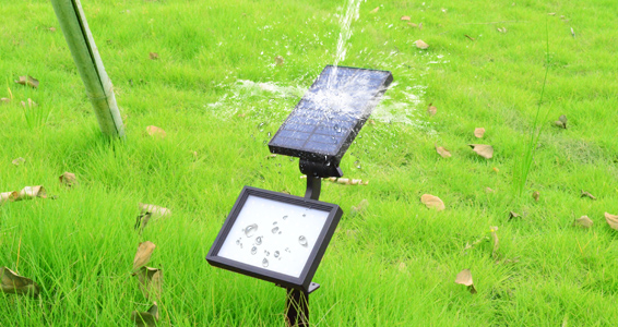 Yucheng solar powered spotlights series for park-4