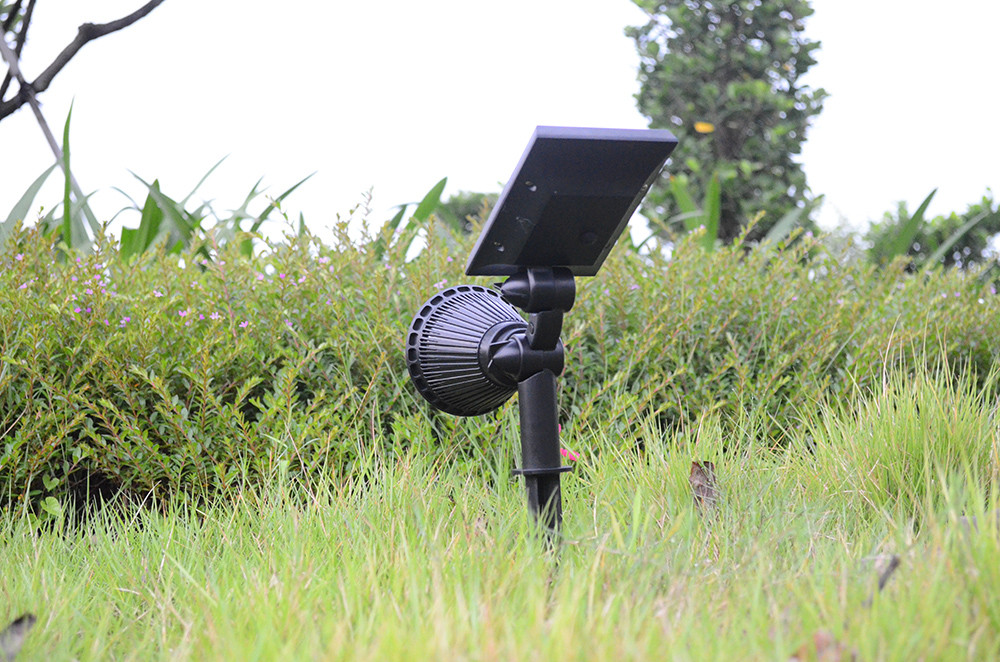 Yucheng intelligent control led solar spotlights outdoor factory direct supply for home-4