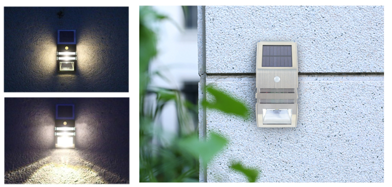 Yucheng solar outdoor wall lights series for garden-2