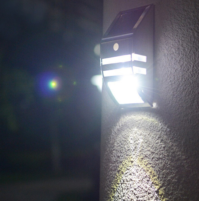 Yucheng square solar sensor lights outdoor manufacturer for pathway-9