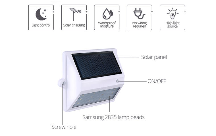 small solar garden fence lights directly sale for park-3