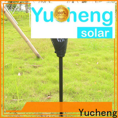 Yucheng top solar flame light supplier for garden