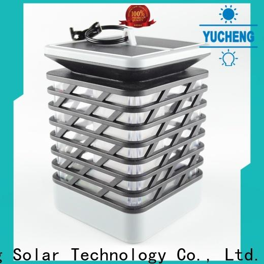 Yucheng solar flame torch with good price for home