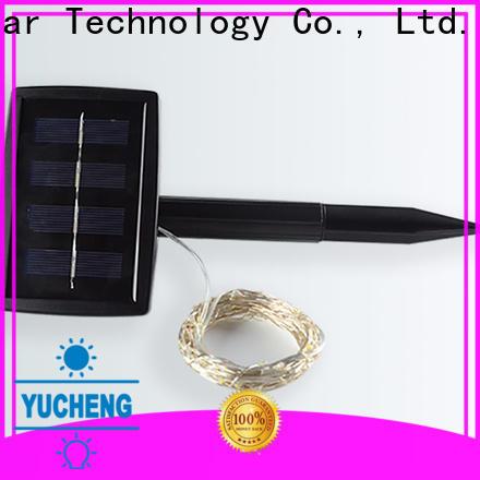 Yucheng solar string lights manufacturer for trees