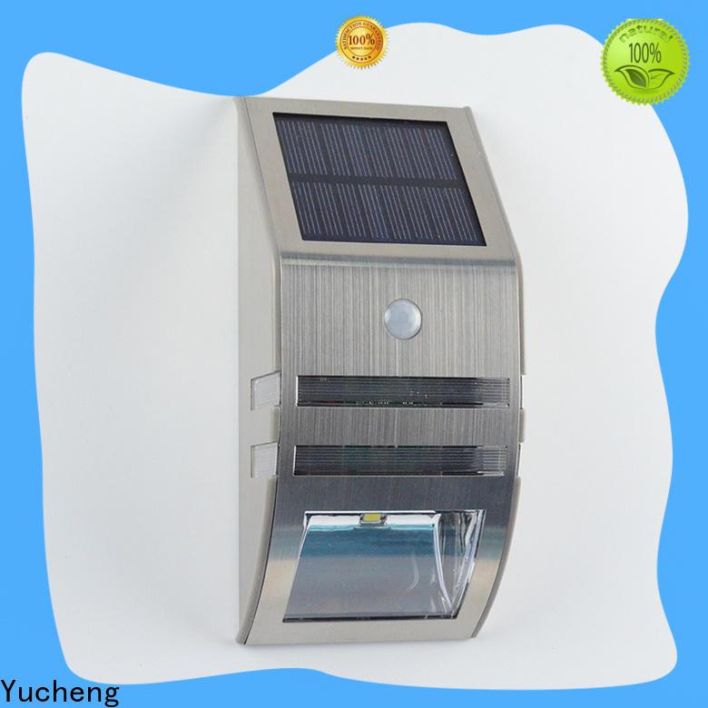 Yucheng best solar wall sconce manufacturer for docks