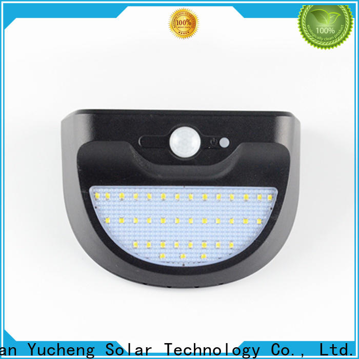 Yucheng solar outside wall lights manufacturer for stair