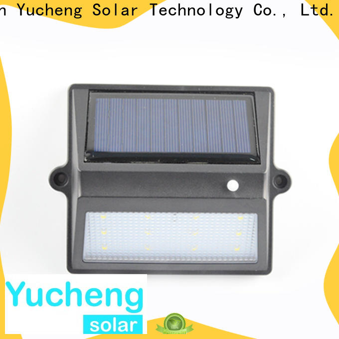 Yucheng outdoor fence lighting with good price for outdoor