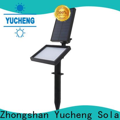 Yucheng best outdoor solar spot lights manufacturer for home