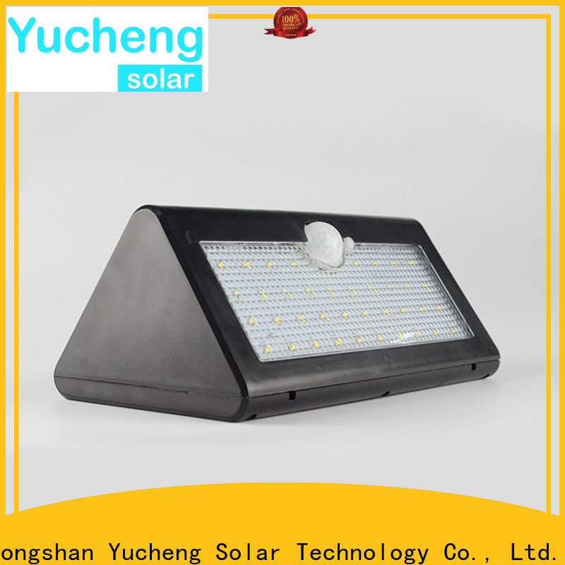 Yucheng high-quality solar garage lights customized for docks