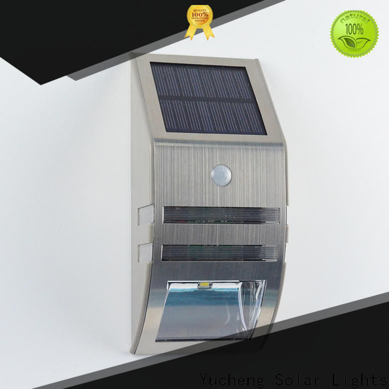 wholesale solar outdoor wall lights series for docks
