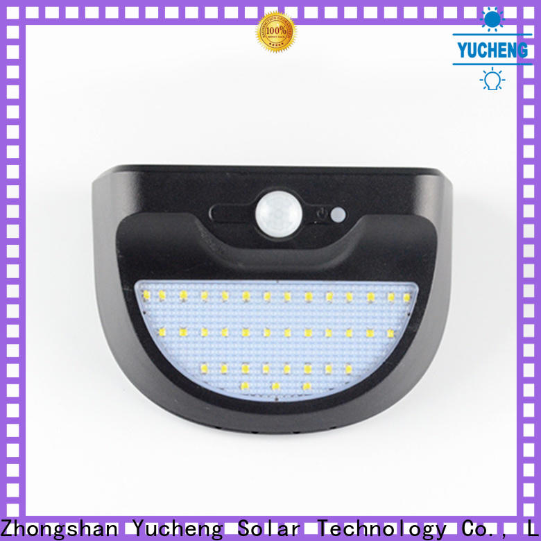 custom solar outdoor wall lights with good price for garden