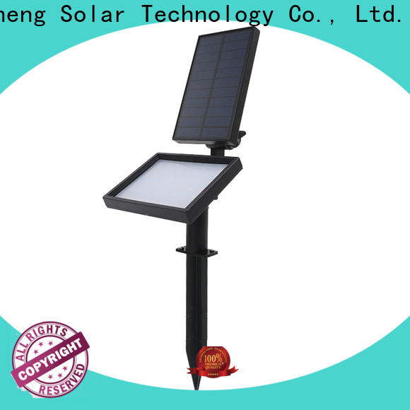 Yucheng solar powered spotlights with good price for wall