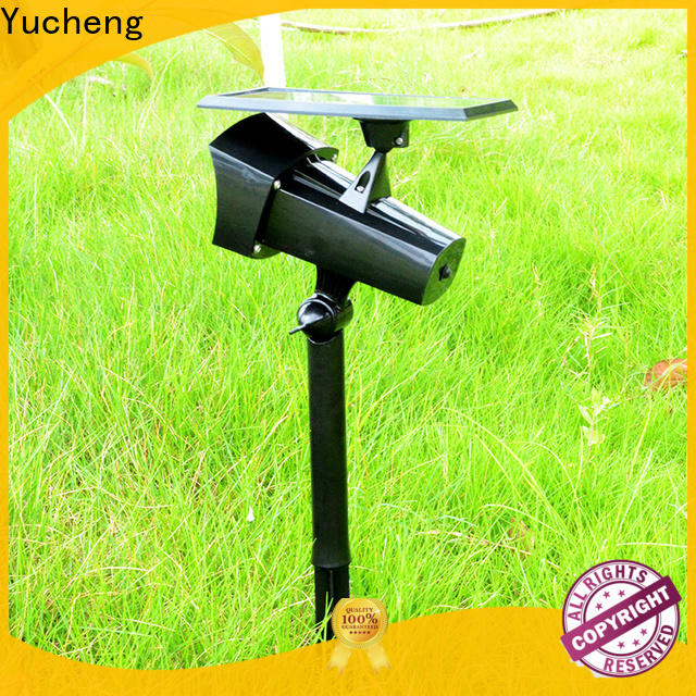 Yucheng custom solar lawn lights with good price for home