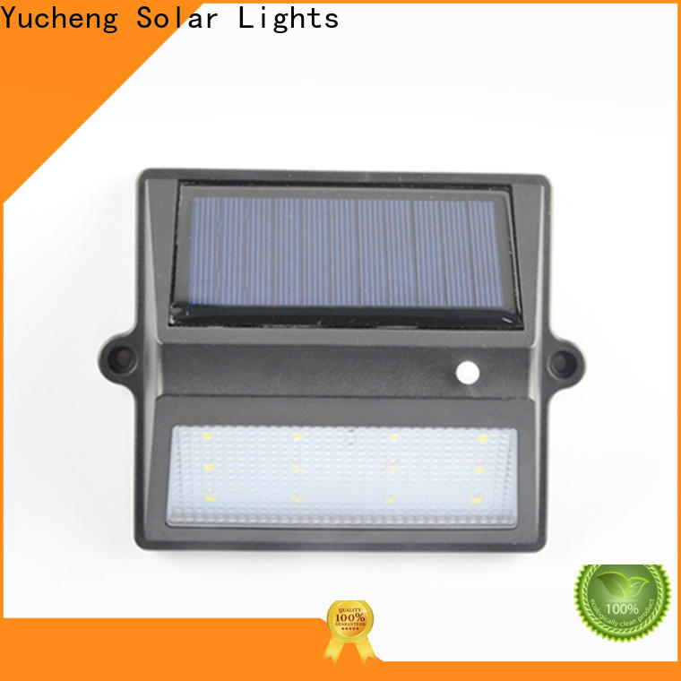 Yucheng latest outdoor fence lighting with good price for garden