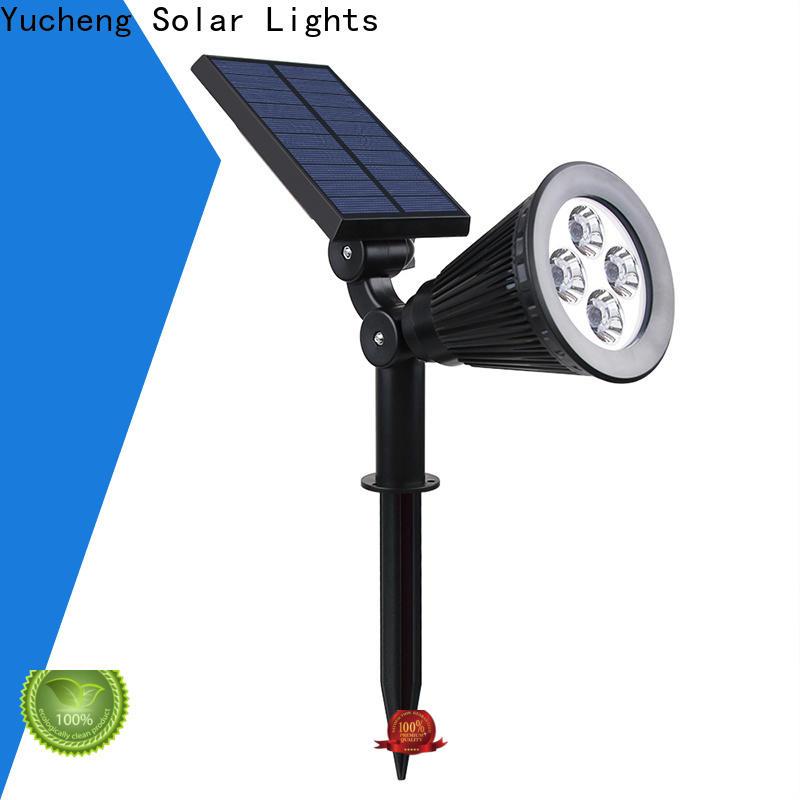 Yucheng solar spotlight factory direct supply for garden