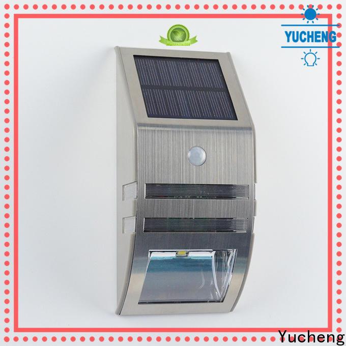 Yucheng solar led lights outdoor supplier for garden