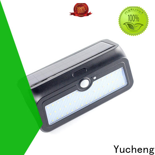 Yucheng custom solar led lights outdoor with good price for stair