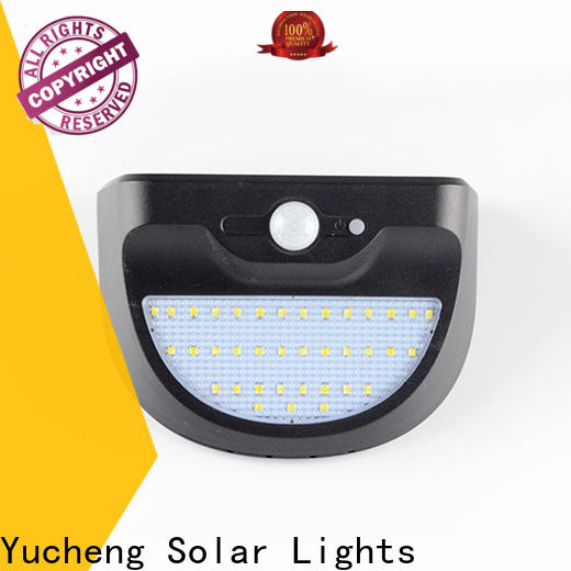 Yucheng solar powered led lights outdoor with good price for stair