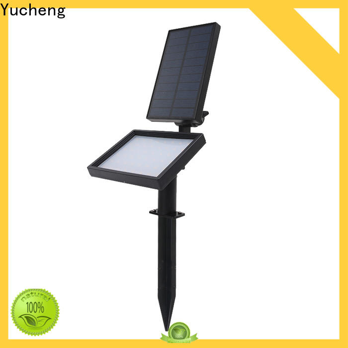 Yucheng solar powered spotlights series for park