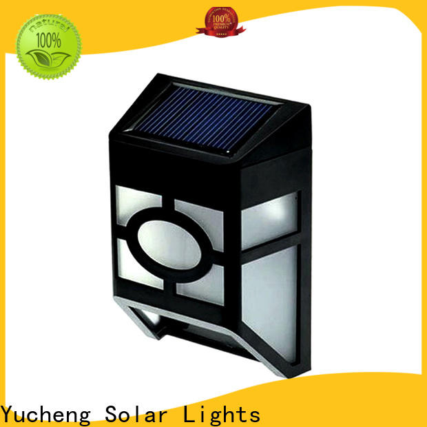 Yucheng new solar fence lights factory price for home