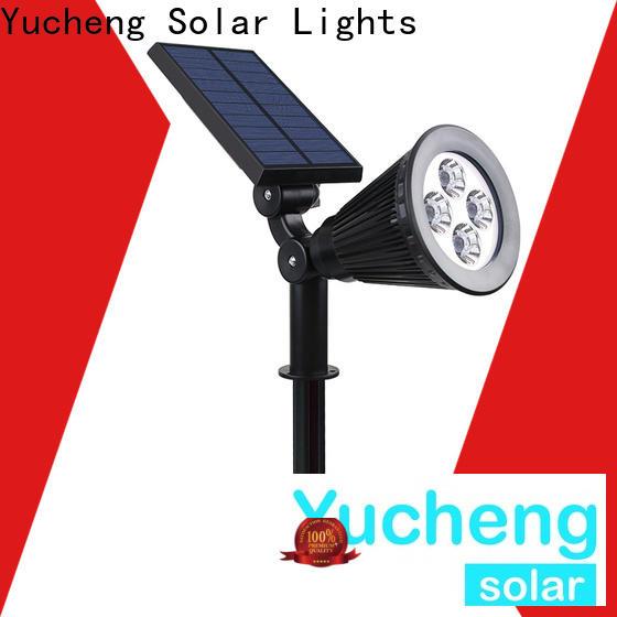 Yucheng solar spotlights customized for wall