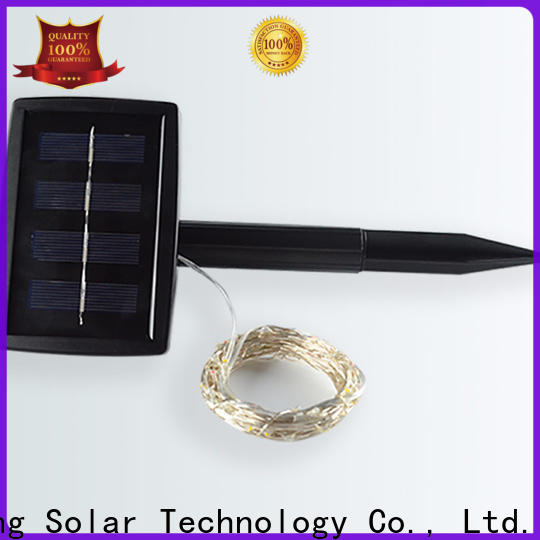 Yucheng solar powered outdoor string lights manufacturer for trees
