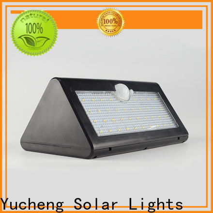 Yucheng outdoor solar wall lights manufacturer for pathway