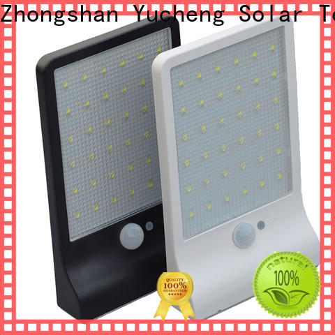 Yucheng custom solar powered sensor light with good price for stair